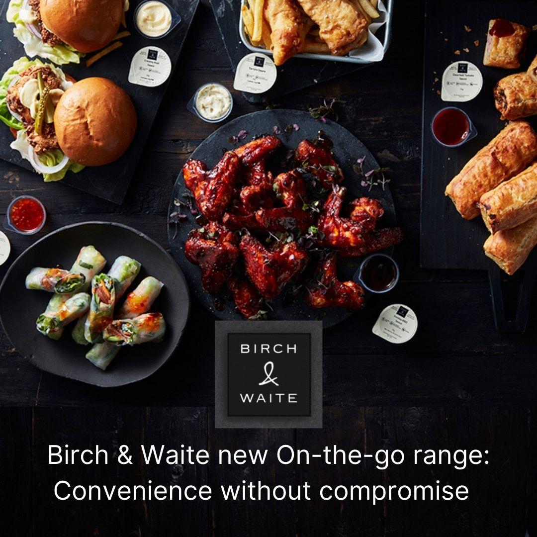 Premium Condiment Range Released to Meet Growing Gourmet Takeaway Trend